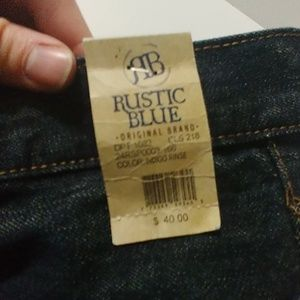 rustic blue Jeans - New brand 34/34 Rustic Blue jeans